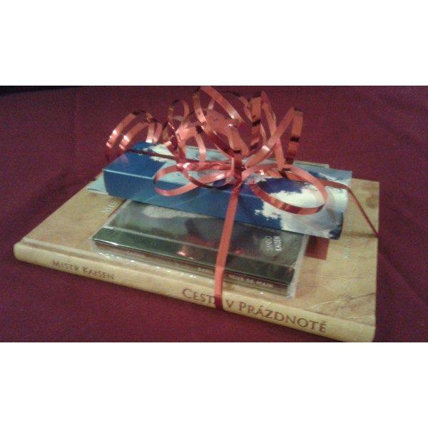 vianočný balíček zen buddhu - kniha, CD, vonné tyčinky